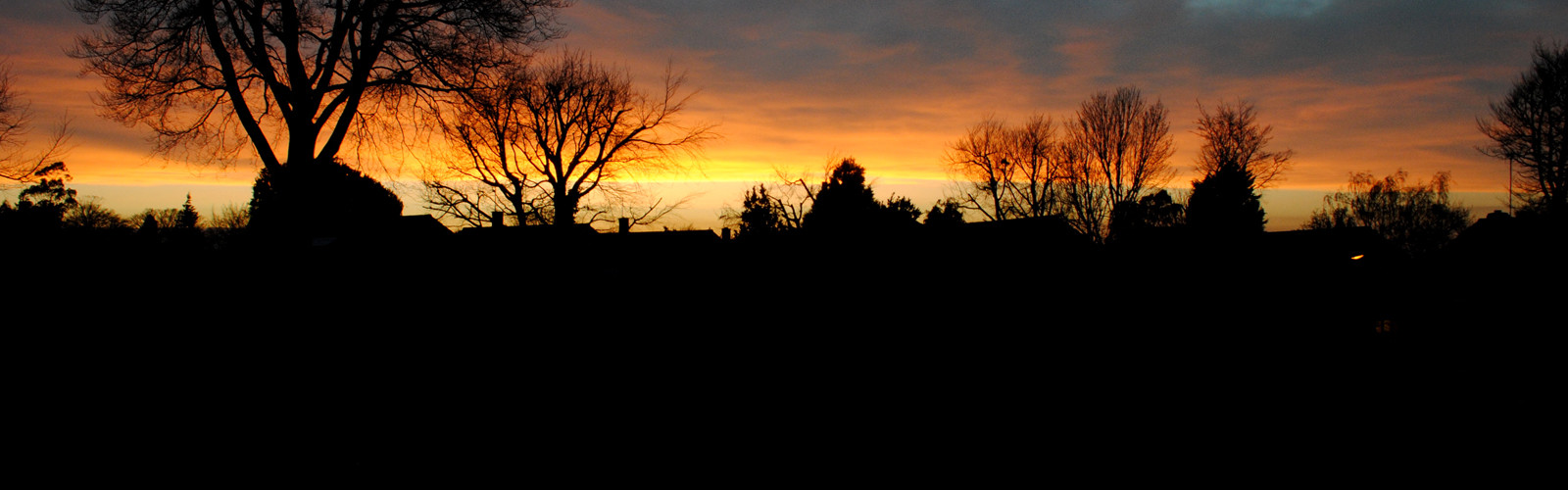 Spring Sunset over Canterbury City